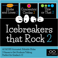 <h5>Icebreakers that Rock 2: Three-Game Bundle</h5><p>$10</p>