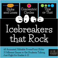Cheesy ice breakers