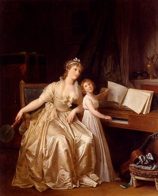 Gerard The Piano Lesson 1810
