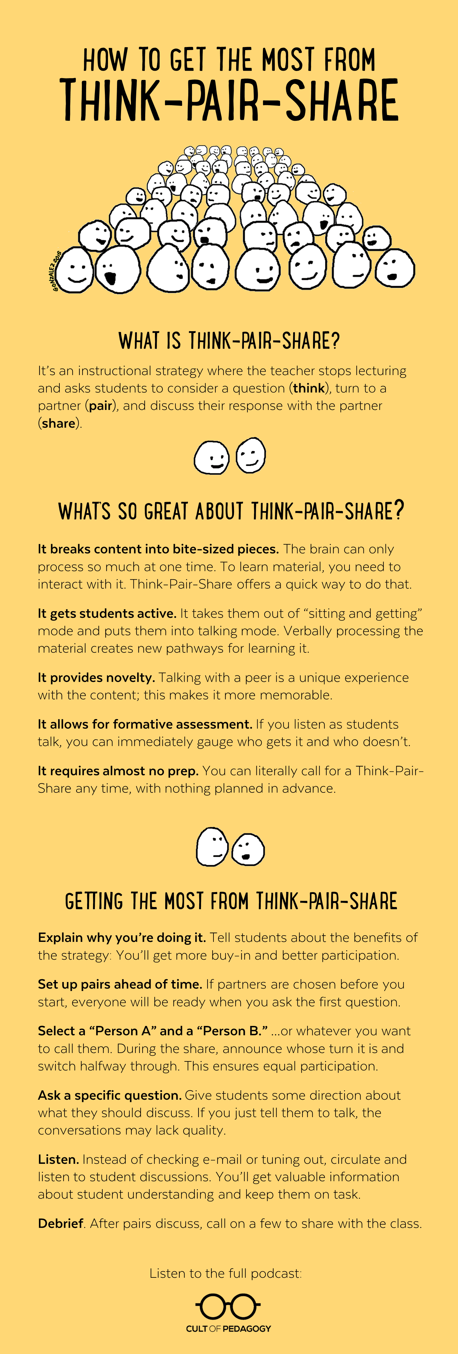 In Praise Of Think Pair Share Cult Of Pedagogy