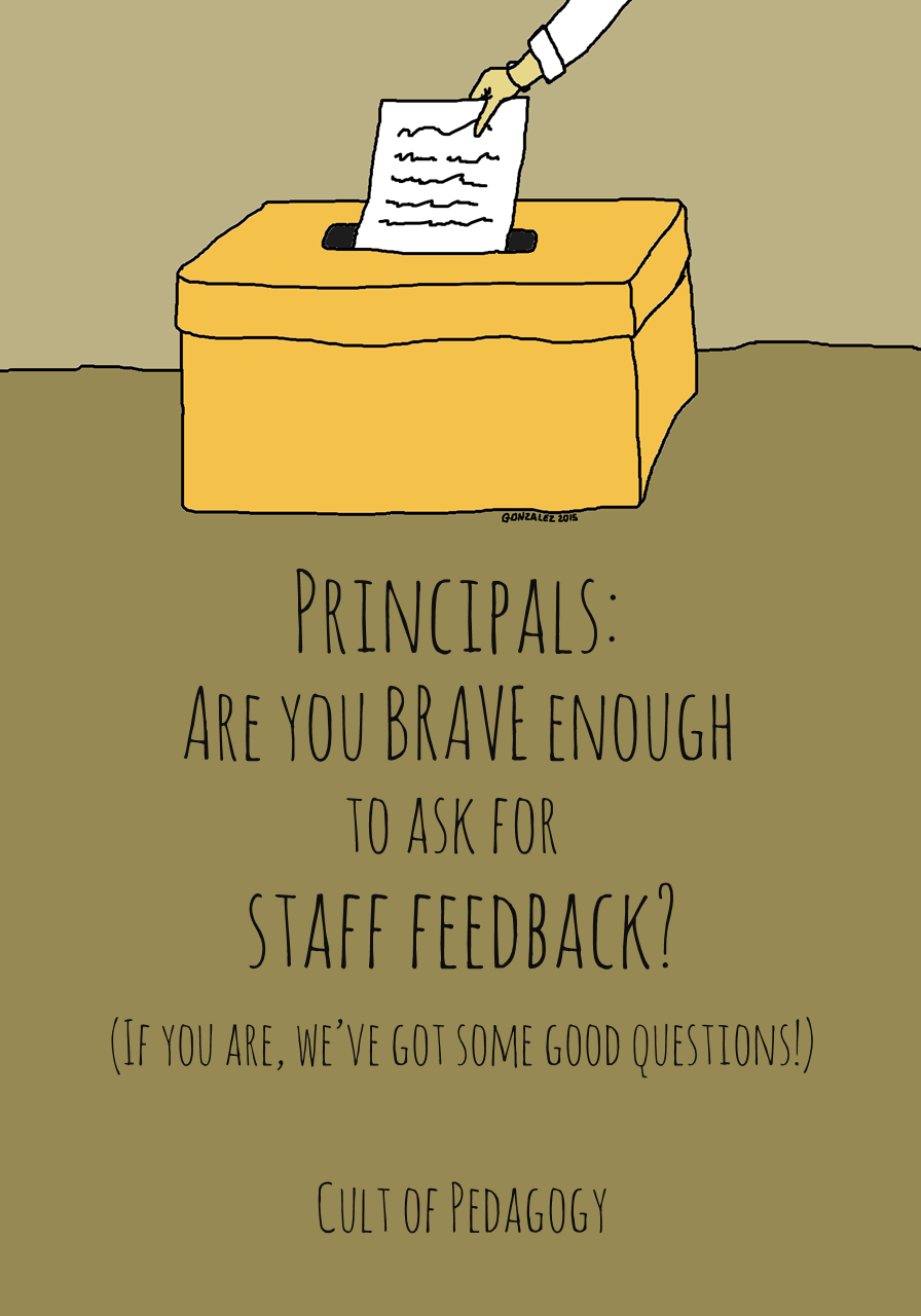 Principals: Are you brave enough to ask for staff feedback