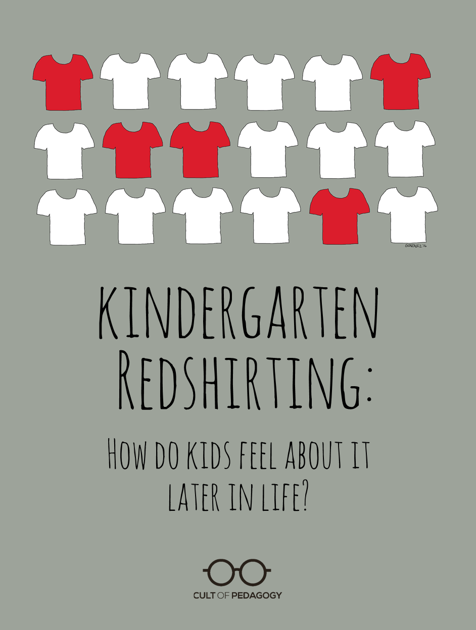 Must Read Autism Gift With No Return >> Kindergarten Redshirting How Kids Feel About It Later In Life