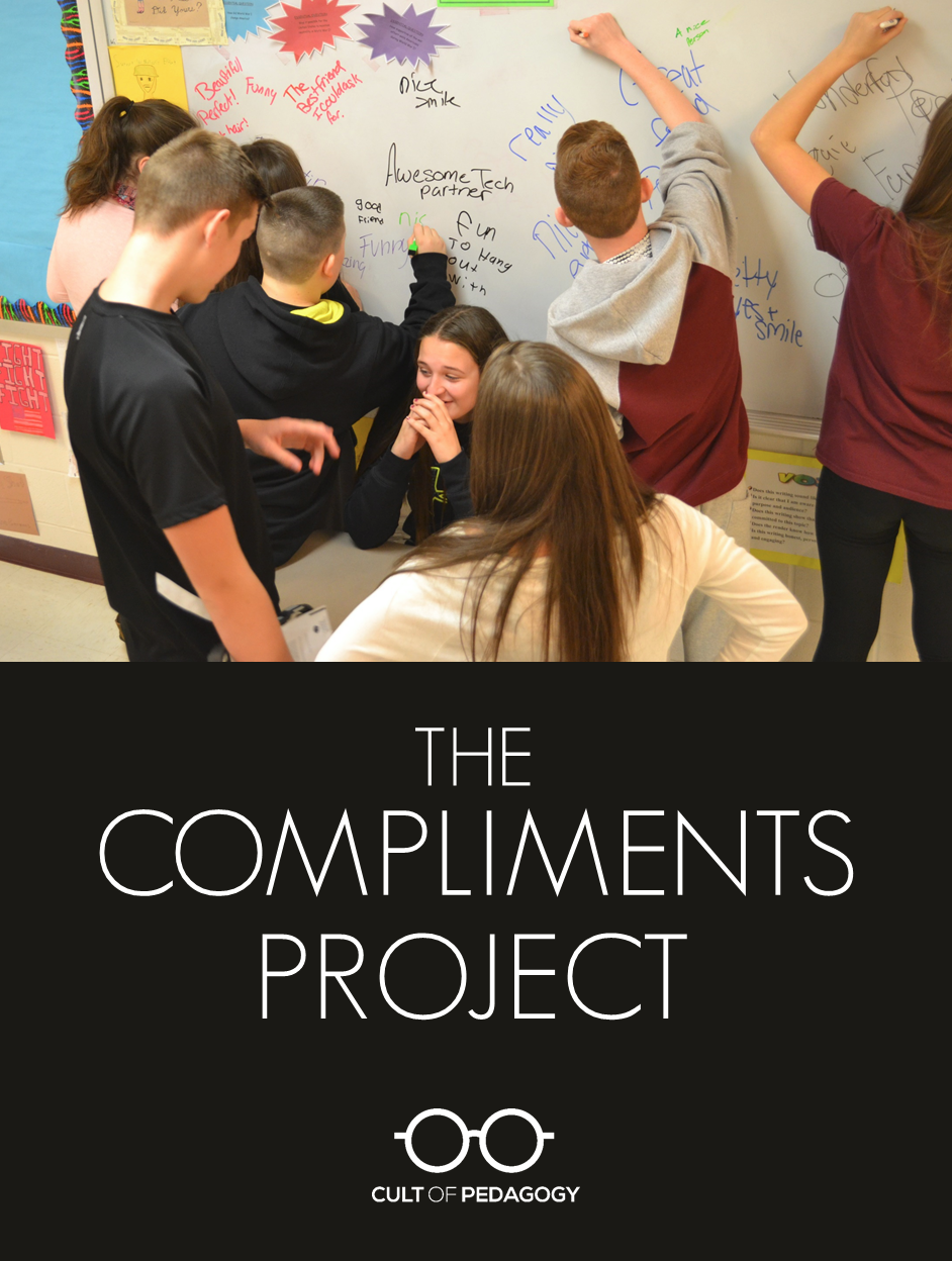 The compliments project cult of pedagogy compliments project publicscrutiny Images