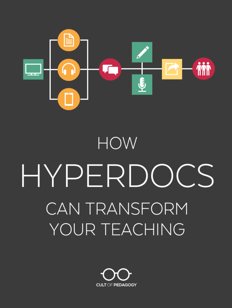 How Hyperdocs Can Transform Your Teaching Cult Of Pedagogy As I Set Out On A Quest To Develop More These Types Learning Listen My Interview With Lisa Highfill Kelly Hilton And Sarah Landis Authors The Hyperdoc Handbook Transcript