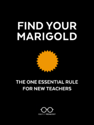 My hot ass teacher Find Your Marigold The One Essential Rule For New Teachers Cult Of Pedagogy