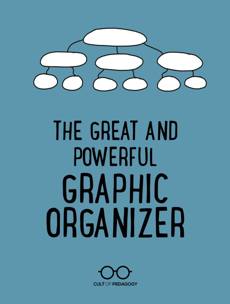 The Great And Powerful Graphic Organizer Cult Of Pedagogy