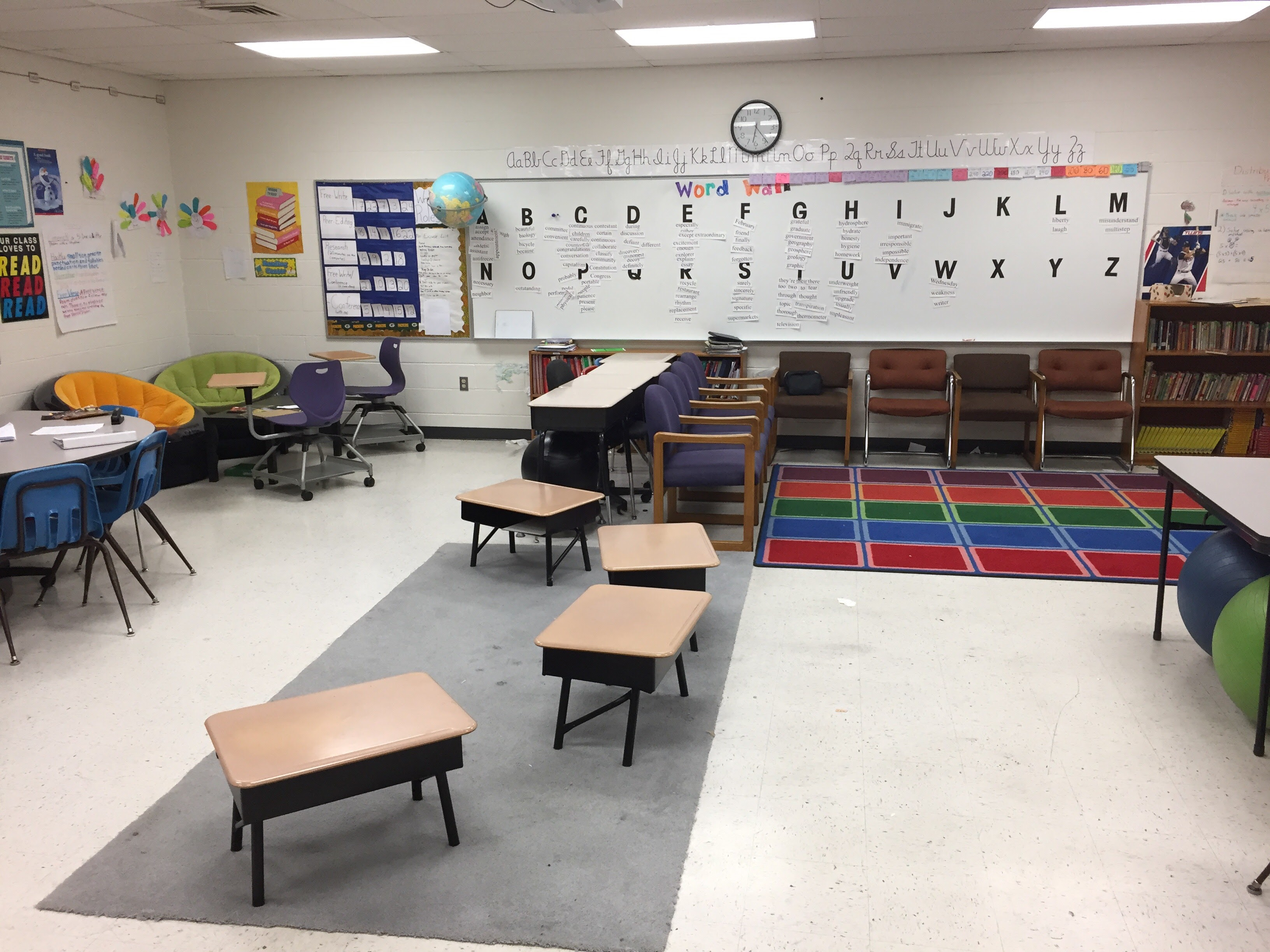 Rearranging Existing Furniture Can Go A Long Way Toward Giving Your  Classroom More Seating Choices. Photo Courtesy Of Robert Dillon.